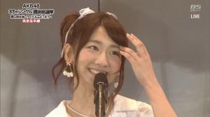 Kashiwagi Yuki 2014 6th Senbatsu speech