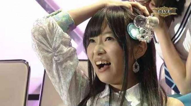 Sashihara Rino's 2014 6th Senbatsu speech