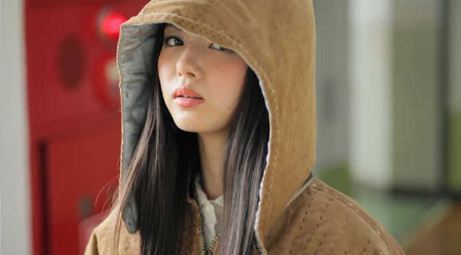 Ichikawa Miori models Keisuke Kanda fashion brand