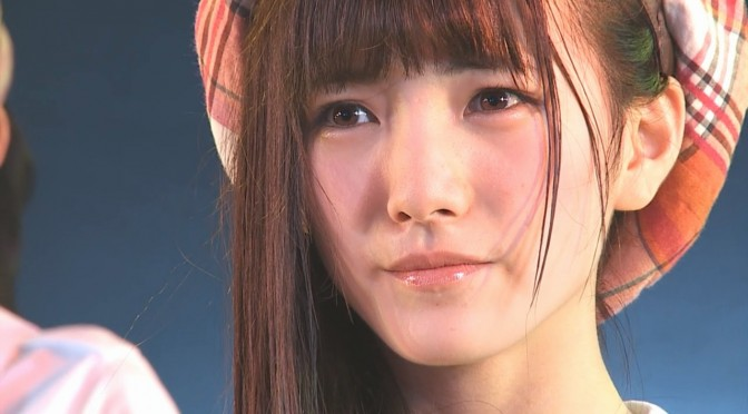 Okada Nana does something about her ugly sleeping face…