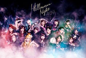 Minegishi Minami appears in Halloween Night