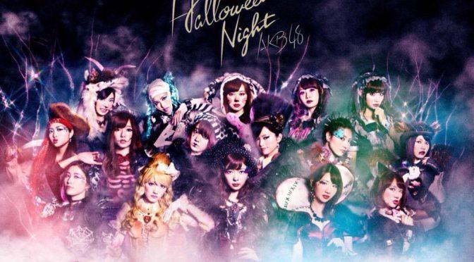 Minegishi Minami appears in Halloween Night