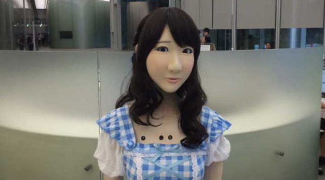 Creepy Yukirin robot is creepy
