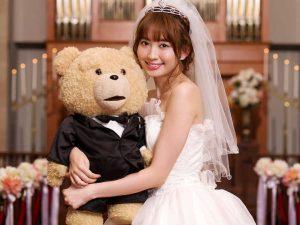 Kojiharu marries a teddy bear