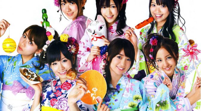 48-Group members in yukata summer apparel