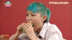 "Enjoy Momoka's ""at your own risk"" food tour!"