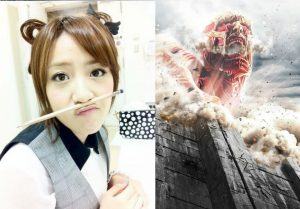 Takamina appears in live-action Attack On Titan movie