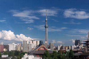 A secret view of Tokyo Sky Tree