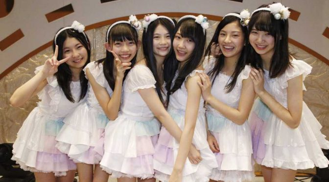SKE48 promotes six new understudy students