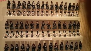 You want these cool-looking AKB Figures!!