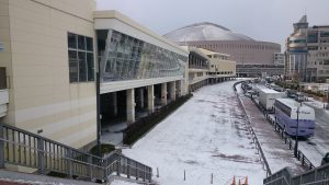 Enjoy the snow in Hakata