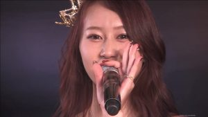 Kobayashi Kana: I became an AKB member, but I couldn't become an idol