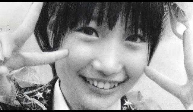 Watch Tomonaga Mio drawn in pencil