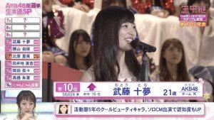 Muto Tomu 2016 8th Senbatsu speech (English subtitles)