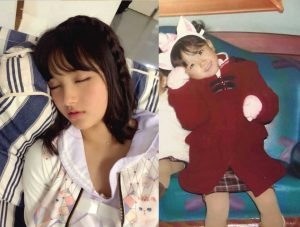 Owada Nana proves that cute idols come from cute babies