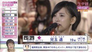 Kodama Haruka 2016 8th Senbatsu speech (English subtitles)