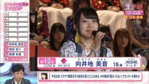 Mukaichi Mion 2016 8th Senbatsu speech (English subtitles)