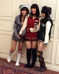 AKB48 Knee High Socks Day 17