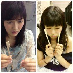 AKB48メンバーの不快感の顔 uncomfortable faces-022