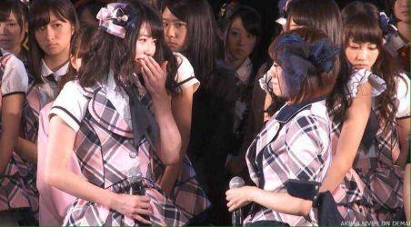 AKB48メンバーの不快感の顔 uncomfortable faces-035